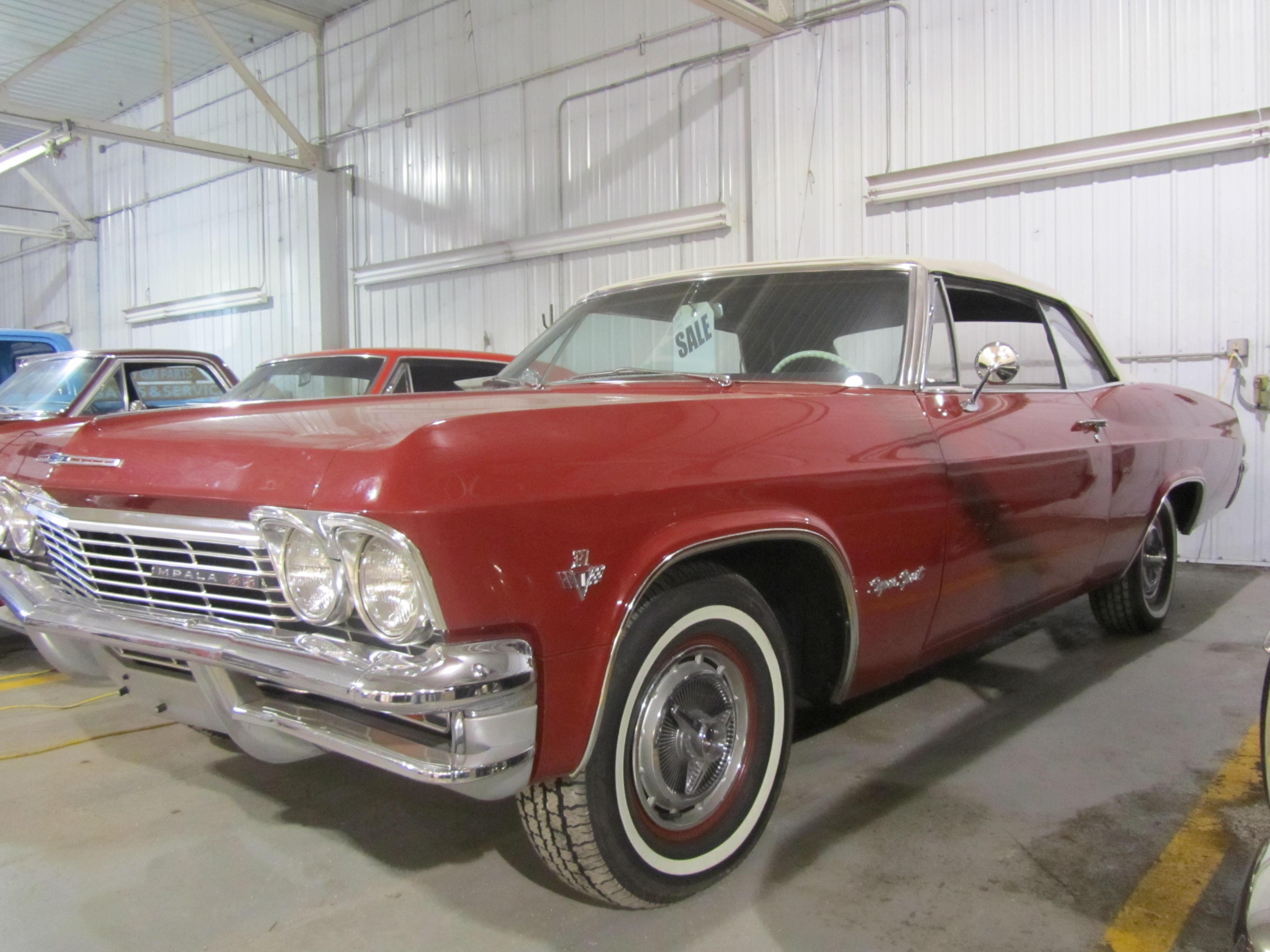 1965 chevy impala convertible 40595 db motors great bend ks publicscrutiny Choice Image