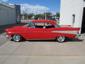 1957 Chevrolet Bel Air Custom 2 Door Hardtop 002