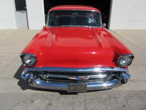 1957 Chevrolet Bel Air Custom 2 Door Hardtop 003
