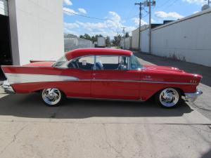 1957 Chevrolet Bel Air Custom 2 Door Hardtop 005