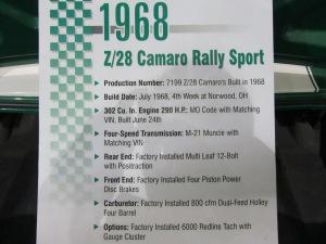 1969 Green Camaro 022