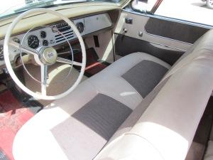 1956 Studebaker interior