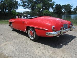 1958 Meredes-Benz 190SL 009